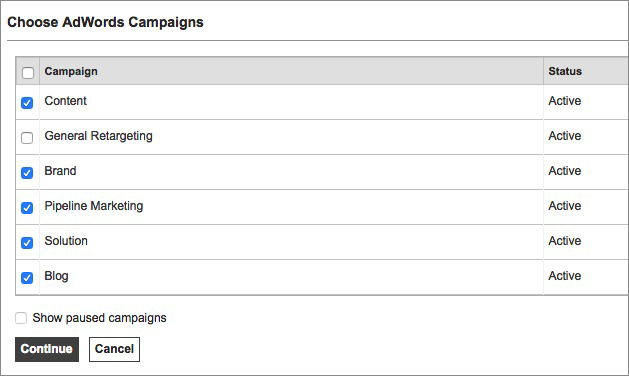 Bing Ads Campaigns Import