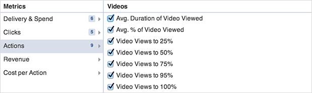 Video Metrics