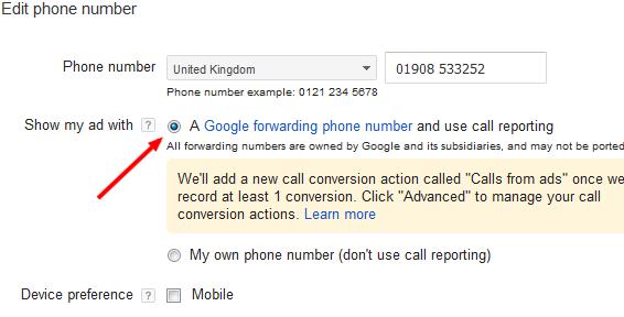 united kingdom phone number example