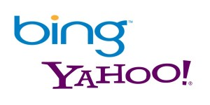 Bing and Yahoo