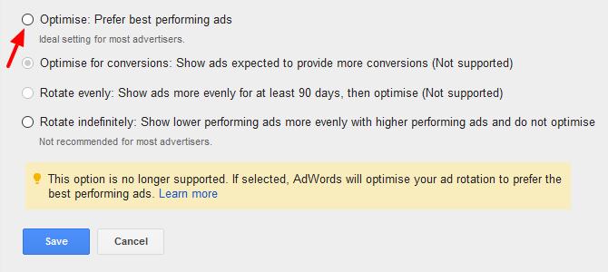 Optimise Ads