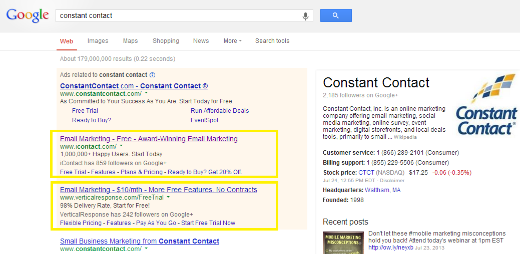 7 Benefits Of Brand Bidding In Google Adwords