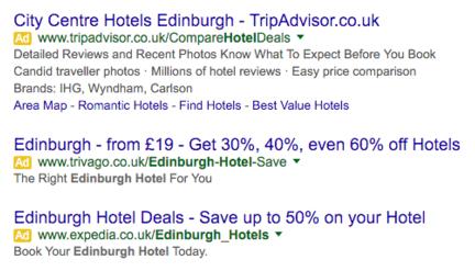 Google Adwords Hotel Ads