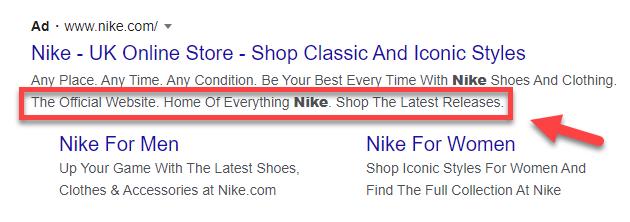 Google Ads Callouts