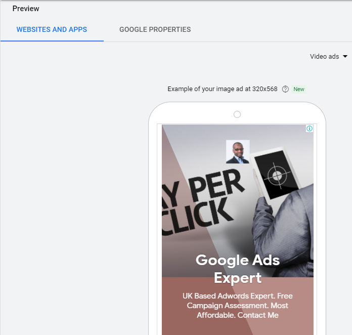 Responsive Display Ads Preview