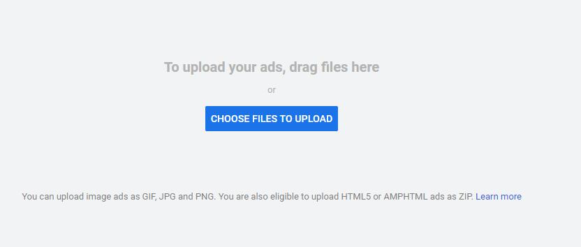 Upload Image Ads